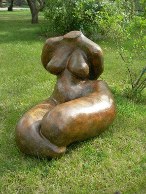 Mavis Mcclure: 'untitled torso', 2007 Bronze Sculpture, Figurative.