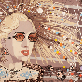 LADY GAGA By Roger Williams