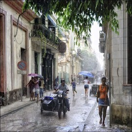 Rolando Angel Artwork C09 015  Calles Oreilly y San Ingnacio, 2009 Color Photograph, Cityscape