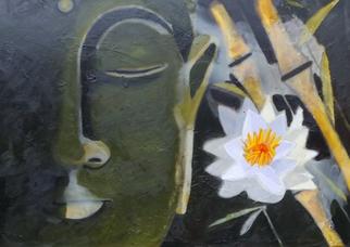 Rone Waugh Artwork Buddha II, 2015 Buddha II, Abstract Figurative