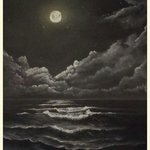 moonlite sea By Ronald Lunn