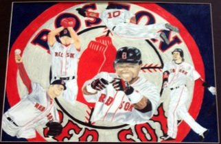 Ronny Nunez Artwork Boston Red Sox, 2007 Boston Red Sox, Sports