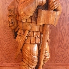 A Warrior Dwarf is Never Too Old sculpture By Ronald Smith