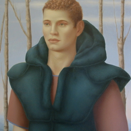 Ronald Weisberg: 'bry', 2003 Oil Painting, Representational.