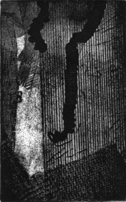 Rosalyn M. Gaier Artwork A Thought, 2008 Etching, Abstract