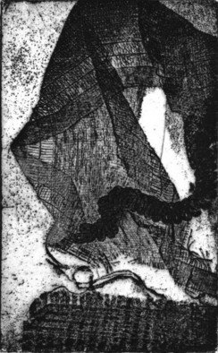 Rosalyn M. Gaier Artwork New Ground II, 2008 Etching, Abstract