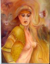 - artwork woman_one-1116779610.jpg - 2005, Painting Oil, Figurative