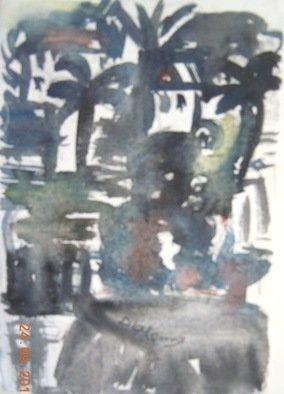 Artist: Rosa D Alessio - Title: san remo - Medium: Watercolor - Year: 2012