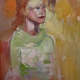 Angela in Green