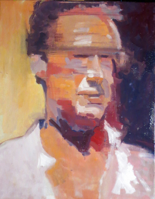 Artist: Jerry Ross - Title: Portrait of Carlo Bianchi - Medium: Oil Painting - Year: 2016