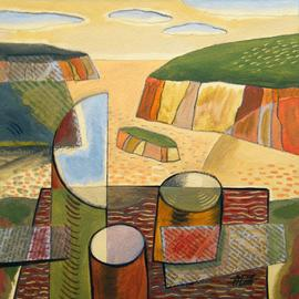 Overlooking The Inlet Of Glad, Trevor Pye