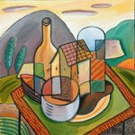 still life with dwelling By Trevor Pye