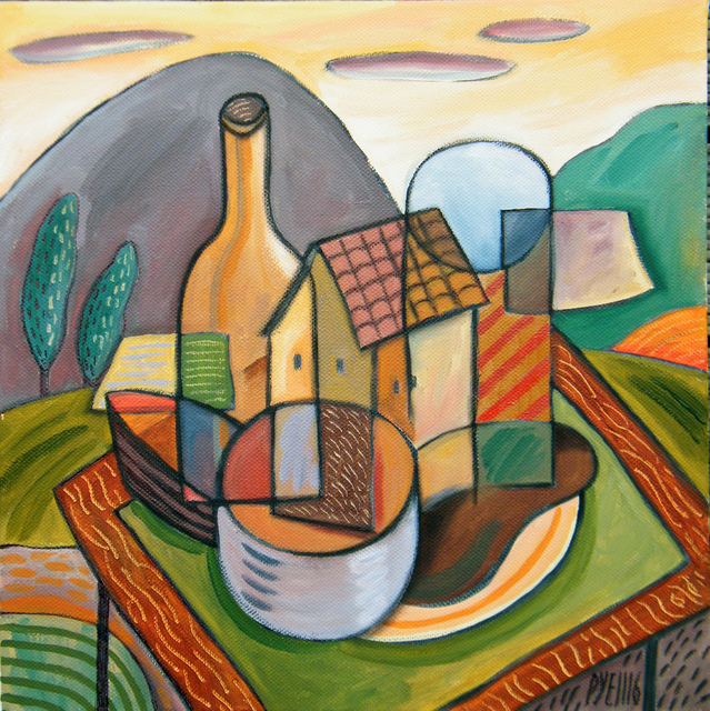 Trevor Pye still life with dwelling 2016