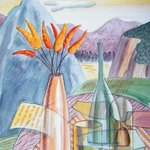 still life with mount of ggf By Trevor Pye