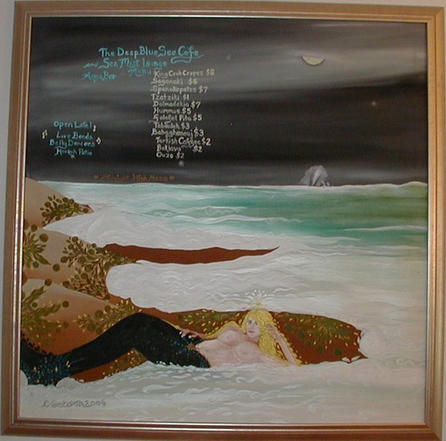 Cathy Dobson  'Apostles Creed', created in 2006, Original Painting Oil.