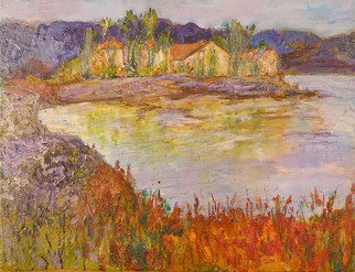 Artist: Roz Zinns - Title: Almost Autumn - Medium: Acrylic Painting - Year: 2010