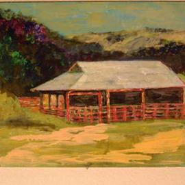 Barn At Franklin Canyon, Roz Zinns