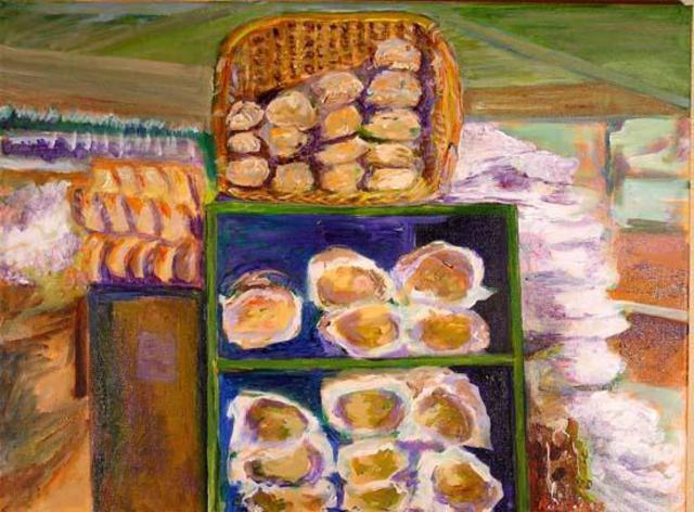 Roz Zinns  'Bread', created in 2005, Original Collage.