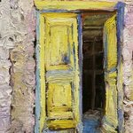 Greek Doorway, Roz Zinns