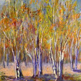 Stand Of Birches, Roz Zinns