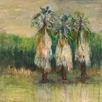 Swaying Palms By Roz Zinns
