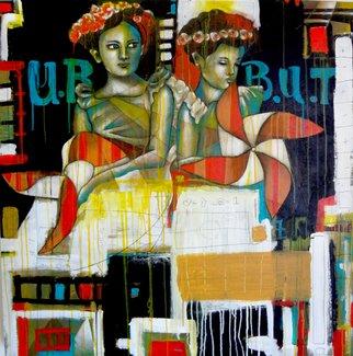 Rricardo Garcia Artwork Beuty, 2015 Beuty, Abstract Figurative