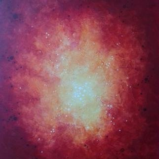 Robert Jessamine: 'star birth', 2021 Acrylic Painting, Abstract. Abstract painting based on nebula pictures from deep space telescopes...