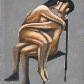embrace and chair By Alberto Ruggieri