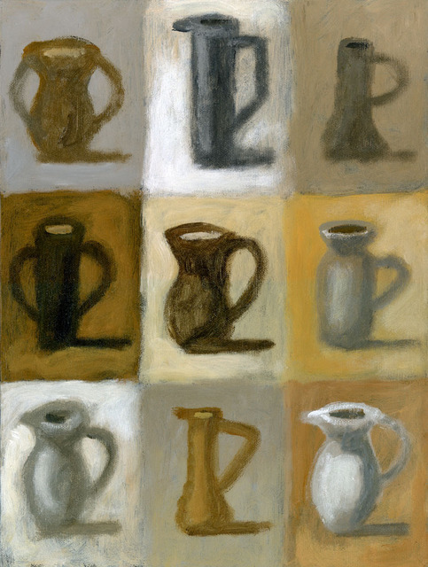 Artist Alberto Ruggieri. 'Pitchers' Artwork Image, Created in 2006, Original Painting Acrylic. #art #artist