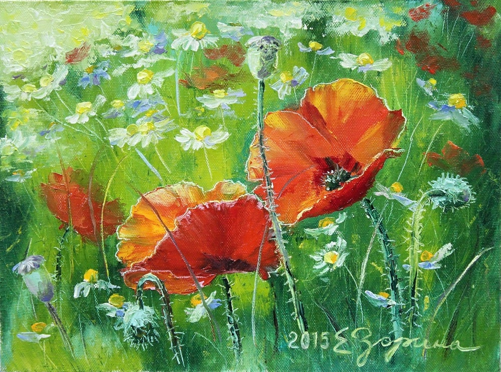Floral Oil Painting Images