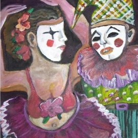 I Am Not Who You Think Clown, Ruth Olivar Millan