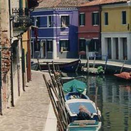Ruth Zachary Artwork Colors of Burano I, 1997 Color Photograph, Travel
