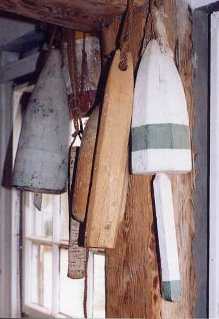 Ruth Zachary  'Old Buoys', created in 2001, Original Photography Black and White.