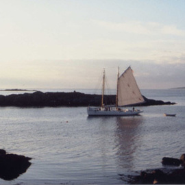 Ruth Zachary Artwork Sailing By, 2000 Color Photograph, Sailing