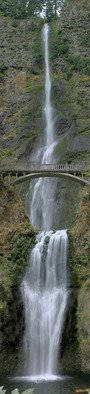 Artist: Ralph Andrea - Title: Multnomah Falls Panoramic - Medium: Color Photograph - Year: 2005
