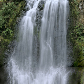 Ralph Andrea Artwork Multnomah Falls Panoramic Detail 2, 2005 Color Photograph, Landscape