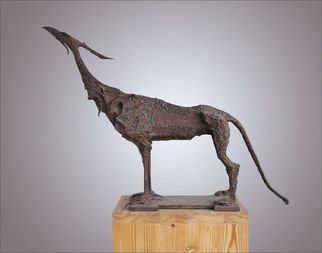 Oleg Ryashentcev: 'Himera', 1983 Steel Sculpture, Animals.