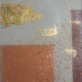 Mark White Artwork Composition, 2007 Mixed Media, Abstract