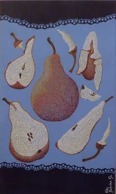 Artist: Sabrina Bianco - Title: Pere Pears - Medium: Acrylic Painting - Year: 2012