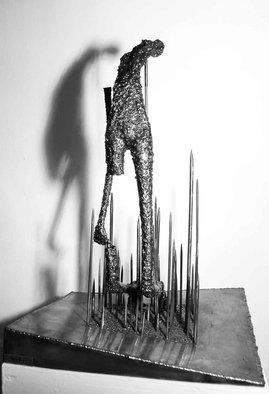 Safa Hosseini: 'Looking for Reality collection', 2006 Mixed Media Sculpture, Figurative. Artist Description:  hanging, mental riddle, knockers ...