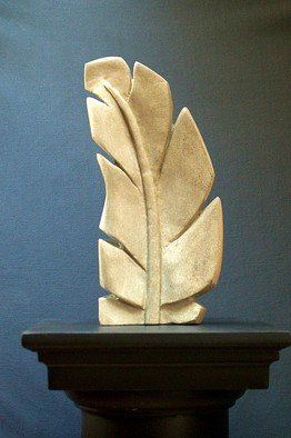 Gabriella Sarlos Artwork feather, 2017 Stone Sculpture, Abstract