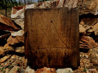 Sahil Nimawat Artwork Illuminati, 2016 Wood Sculpture, Conceptual
