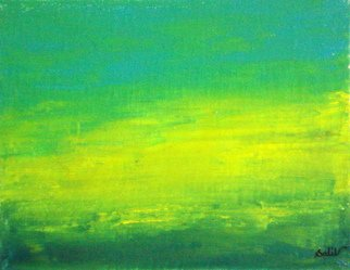 Gopal Weling Artwork monsoon11, 2008 Oil Painting, Abstract Landscape