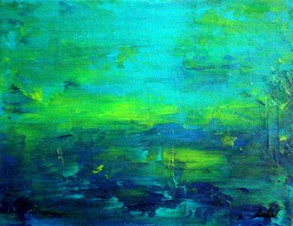 Gopal Weling Artwork monsoon5, 2008 Oil Painting, Abstract Landscape