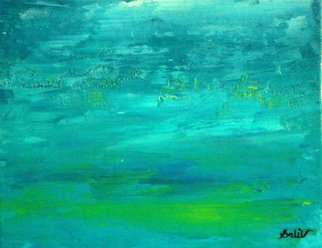 Gopal Weling Artwork monsoon9, 2008 Oil Painting, Abstract Landscape