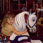MERRY GO ROUND GIRL  By Sally Arroyo