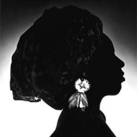 Sam Smith: 'Crown of Africa', 1970 Black and White Photograph, Ethnic. Artist Description: This work considers the oft underestimated power and influence of the women in African societies, where sovereignty of the crown ( usually afforded the male) is of the highest order. Due to the lighting, the specific identity of the sitter is hidden, thereby rendering her as a symbol, one ...