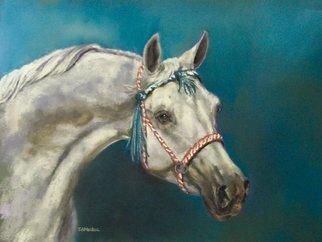 Animals Pastel by Sallyann Mickel titled: Basquel, created in 2007