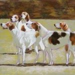 Five Foxhounds, Sallyann Mickel