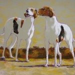 Two Foxhounds, Sallyann Mickel